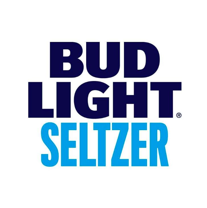 Bud Light Seltzer - Blue White Logo - Better On Draft